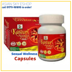 Herbal Kasturi Gold Sexual Wellness Capsules