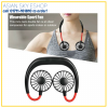 Headphone Design] Fashion headphone design makes this personal fan a wonderful