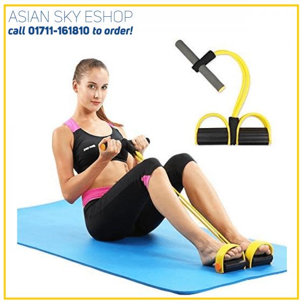 SUHAV Pull Reducer Rubber Pull Rope Exerciser Body Trimmer Pull Reducer