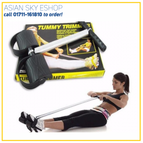 Tummy Trimmer for Weight loss (Unisex) | Tummy Trimmer-Abs Exerciser- Body Toner- Fat Buster- Multipurpose Fitness Equipment for Men & Women | Single Spring Tummy Trimmer