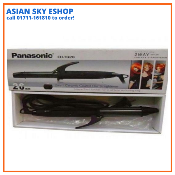 Panasonic EH-TQ26 2 Way Curler and Hair Straightener